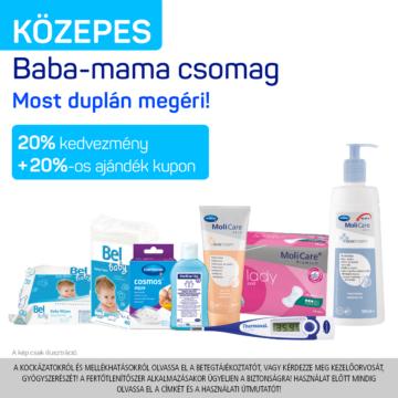 KÖZEPES Baba-mama csomag