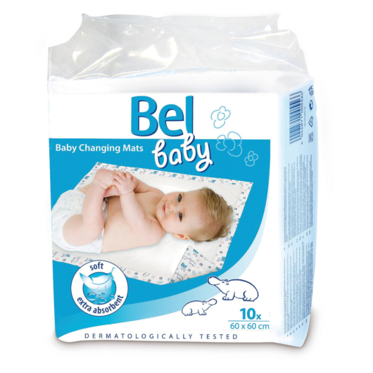 Bel Baby Bébialátét 60x60cm (10db)