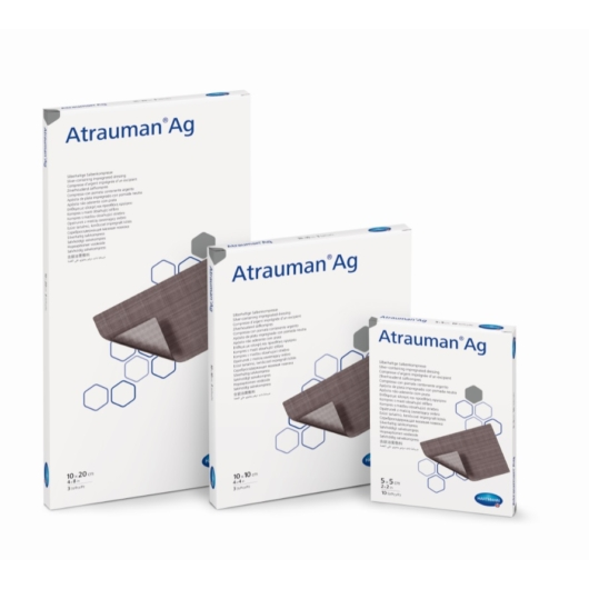 Atrauman® Ag antiszeptikus kenőcsös sebfedő