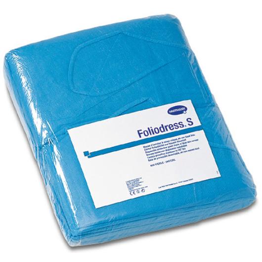 Foliodress S beteglátogató kabát,nem steril (kék)