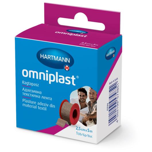 Omniplast® ragtapasz 2,5cmx5m (1 db)