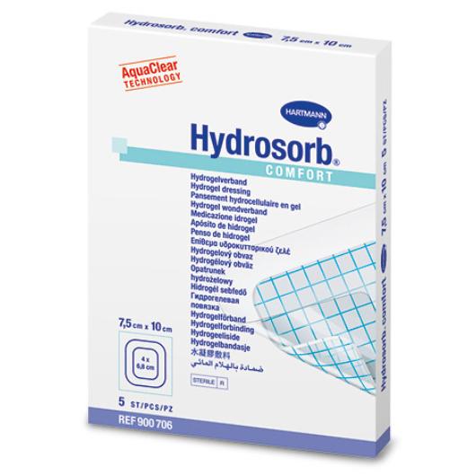 Hydrosorb® Comfort gélkötszer öntapadó szegéllyel