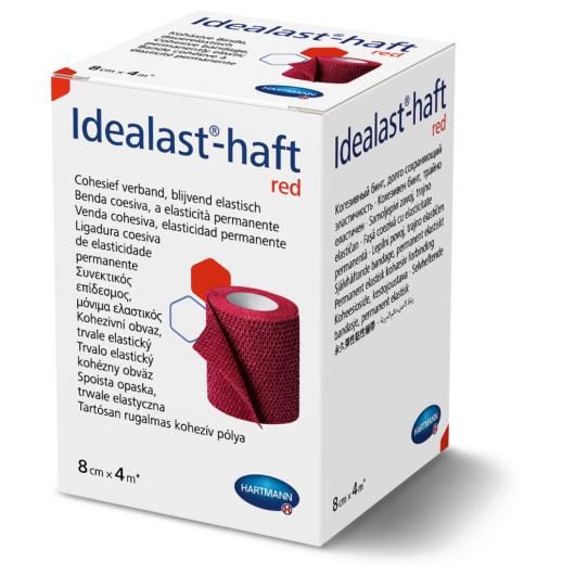 Idealast®-haft öntapadó kompressziós pólya (piros)