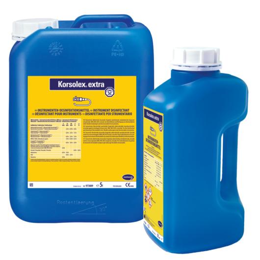 Korsolex® extra műszer-, eszközfertőtlenítő