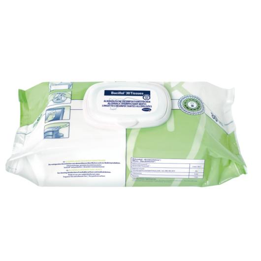 Bacillol®30 Tissues felületfertőtlenítő törlőkendő